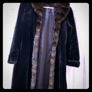 Fur style coat